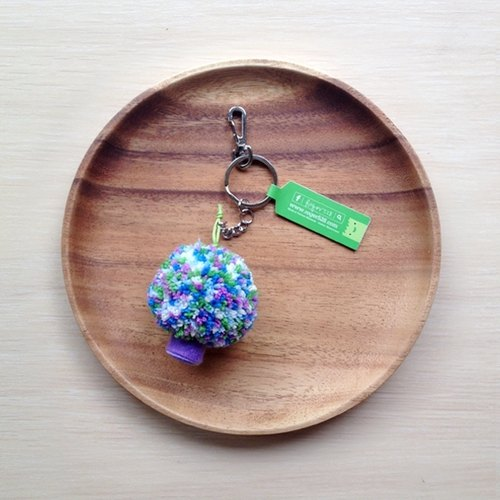 Handmade cauliflower keychain - Color 14
