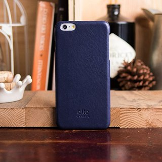 Alto iPhone 6S Plus Genuine Leather Case Back Original - Navy