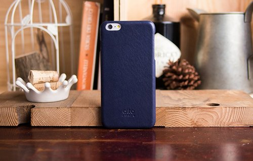 Alto iPhone 6 Plus / 6S Plus Leather Case Rear Cover, Original - Navy Blue [Add to Cart]