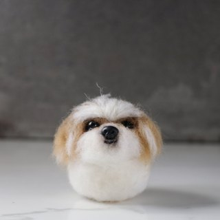 12cm pet cloned [feiwa Fei handmade baby doll pet Yorkshire] (welcome to build your dog)