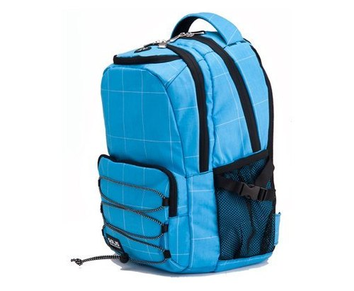 SOLIS [Crossroad Tour Series] after computer models Small Drawstring Backpack (sky blue)