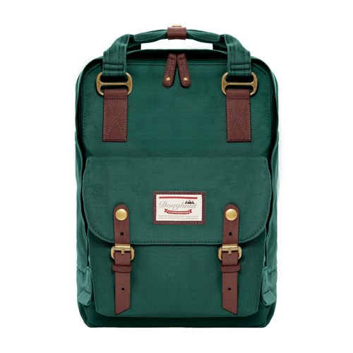 (No cash) Doughnut after water repellent Macaron backpack - sea grass