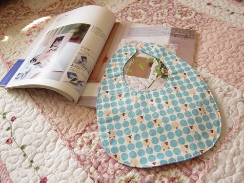 Blue Bubble Mianyang - infant baby cotton bibs