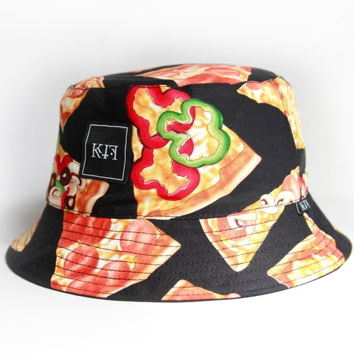 KIF'15 Pizza Mania Bucket Hat sided hat