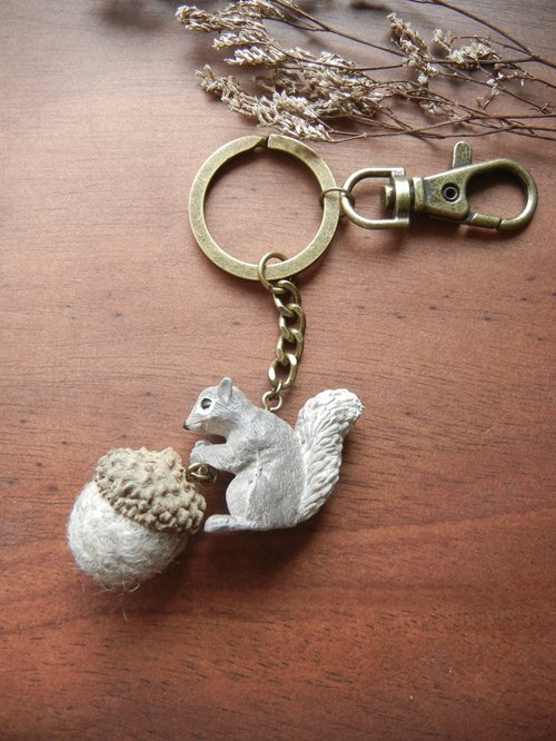 * Coucoubird * Acorn eating squirrel - gray