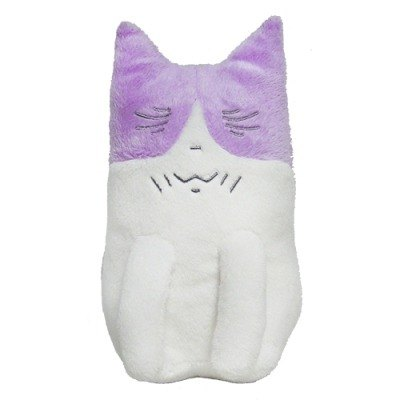 Kuruneko, Japanese Anime cartoon cat nap 20cm doll sitting relieve pressure _Monsan (KK1409402)