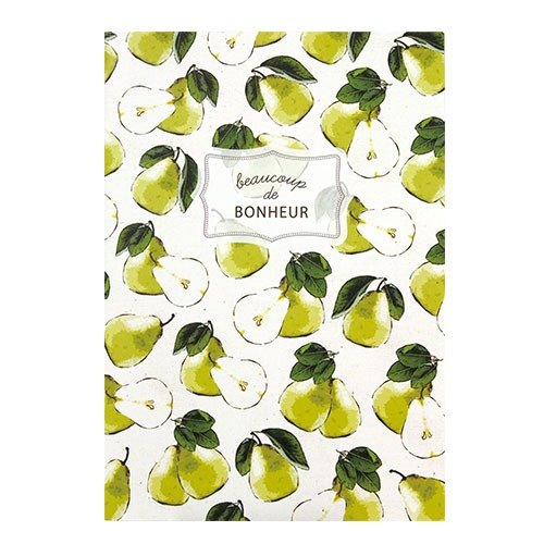 [Japanese] Fruite LABCLIP series A5 note notebook / pears
