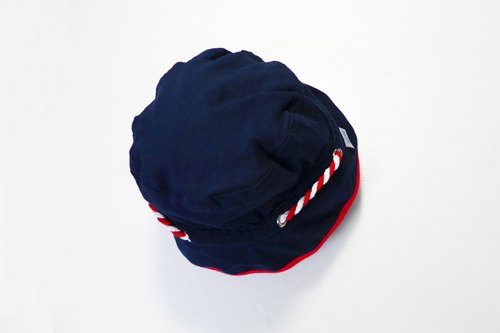 Navy blue baby hat