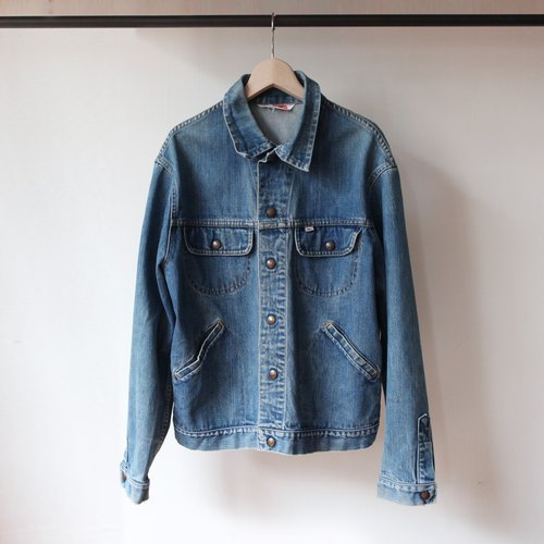 CJ-2483 GWG salmon FIG blue denim jacket