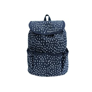 OGG Geometry 100% Handmade Limited Baby Backpack Raindrops