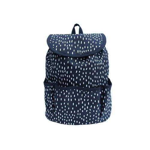 OGG 100% hand geometry Fun Limited ♥ baby backpack rain pattered
