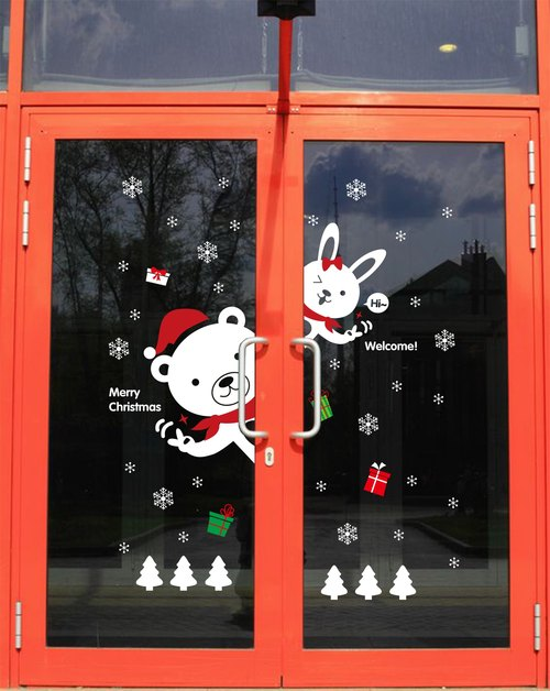 ★ ★ situational creative Seamless wall stickers Christmas come # DLX0823C