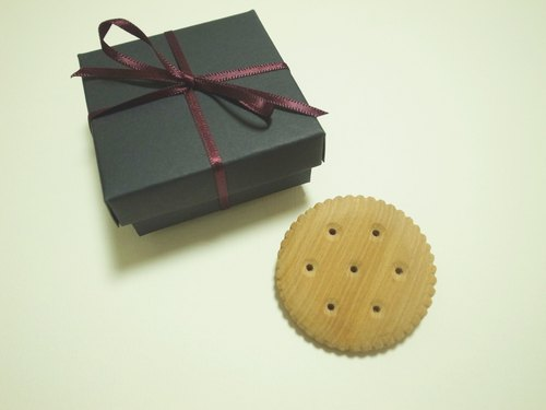 [Even] Christmas handmade wooden ceiling limit -cookie pin- pin a biscuit into - plain or chocolate - with Christmas Gift Packages