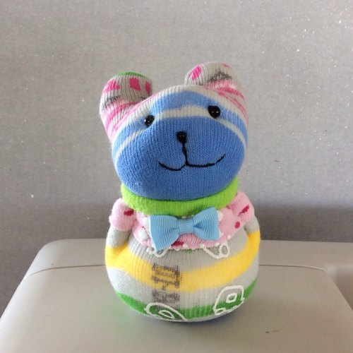 Kobayashi ~ I102 pattern rabbit (socks doll)