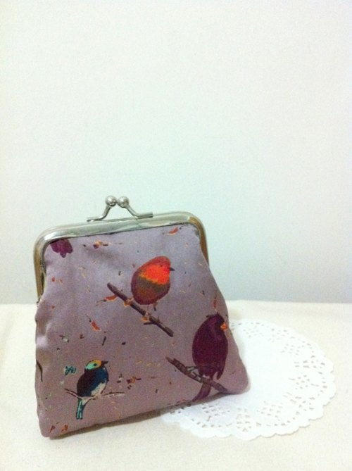 [Needle Shishi] bird ﹑ purse mouth gold package