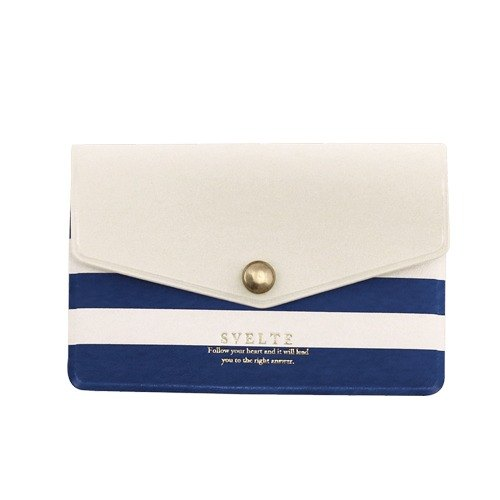 [Japanese] Svelte LABCLIP Series Card case card storage folder / Blue