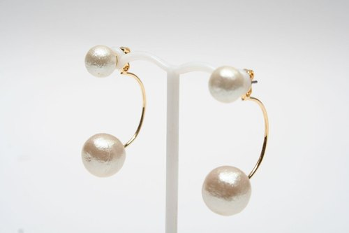 [JewCas] Cotton Pierced earrings / JC2096