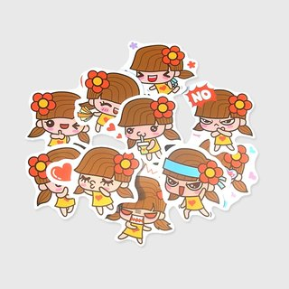 Sticker: SWEET GIRL (large sticker: paragraph 10)