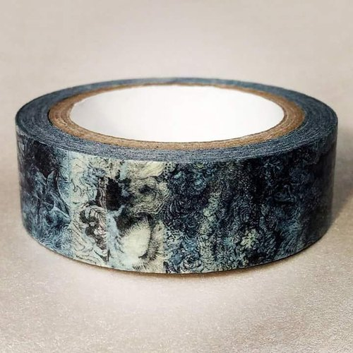 Inner Taiwanese Landscape : Japanese Washi Masking Tape One Roll (15 mm) = The Significant Travel