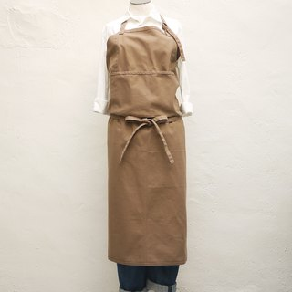 Herve Cotton Full Length Apron
