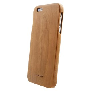 OVERDIGI Mori iPhone6 ​​(s) plus all-natural cherry wood protective shell