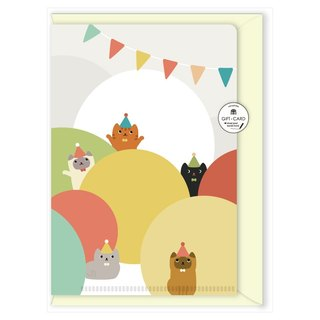 hime's cats happy cat folder type universal card
