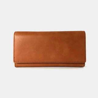 Influxx Aubrey Envelope Leather Wallet – Autumn Orange