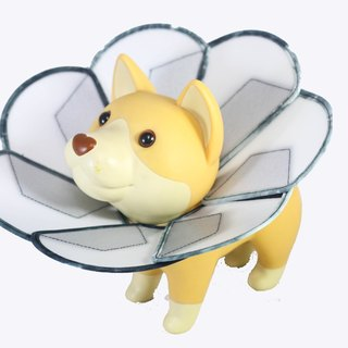 Petals Flowers pet anti-licking medical headgear [board] (Size XL)**Taiwan's new patented design**