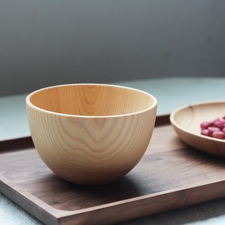 Moment of wood are - Xi Kobo - birch bowls, the entire wooden bowls, Japanese bowls - in