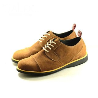 [Dogyball] AN003- ALEX Minimalistic Classic Oxford Shoes TAN Tan/Wolf Brown