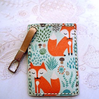 Fox travel card sets / ticket holder / card holder