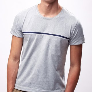 Men Short T-shirt (Light Grey)