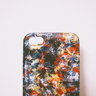 Pastoral series ll icy ll hand-painted oil painting phone case