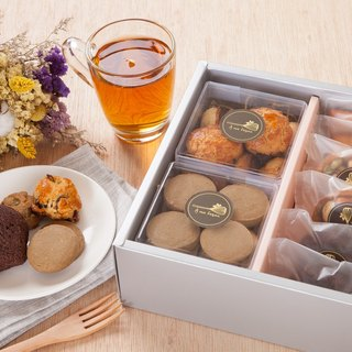 Waterloo French dessert baking handmade gift box (box 5)