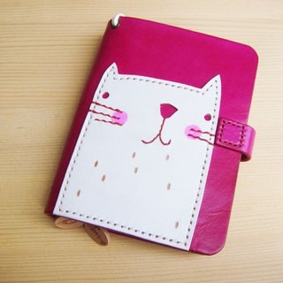 ISSIS - Summer White Cat A7 Handmade Notebook Manual