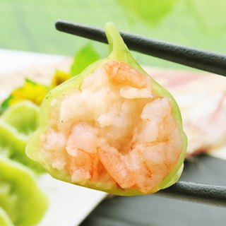 [Big sister handmade dumplings] jade shrimp dumplings (25 in / bag)
