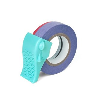 【Dot Design】魚里 Carp (Tape Dispenser)-藍色