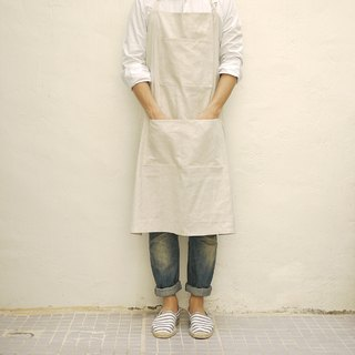 Linen Cotton Mix Easy Apron