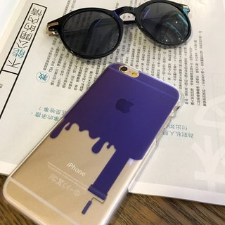 Painter Purple Print Soft / Hard Case for iPhone X,  iPhone 8,  iPhone 8 Plus,  iPhone 7 case, iPhone 7 Plus case, iPhone 6/6S, iPhone 6/6S Plus, Samsung Galaxy Note 7 case, Note 5 case, S7 Edge case, S7 case