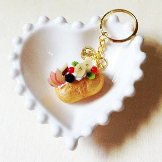 New listing ~~ ~~ mini lightning fruit puffs Charm (fruit summary) ((over 500 were sent mysterious little gift))