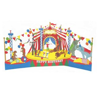 Welcome to the circus || ◤ three-dimensional decorations birthday cards | JP