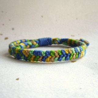 Small skip bean lucky rope woven bracelet (optional color)