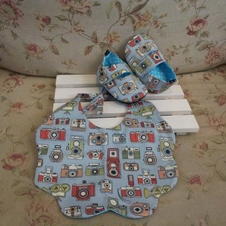 Retro camera Baby Gift Set (12cm)