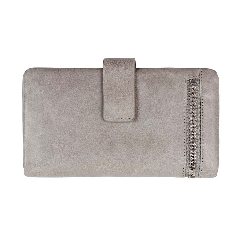 ESTHER Long Clip _Light Grey / Light Grey