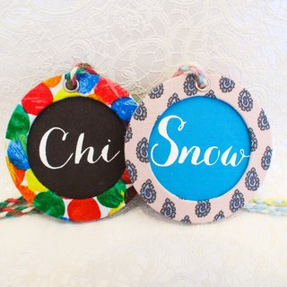 """Lively summer"" light travel ♥ hand circular logo customized limited edition"