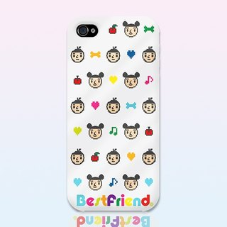 [BestFriend] Pixel BestFriend iPhone 5 / 5S Case (fully transparent paragraph)