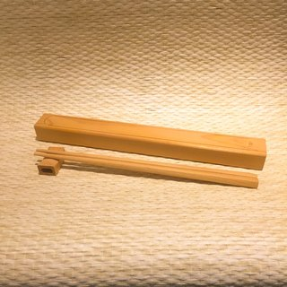 Taiwan Elm chopsticks L (including coffin box and chopstick holder)