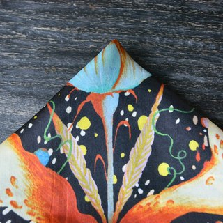 Vintage Style - Good Quality and Long Shape Silk Scarf/Accessory