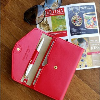 Plepic - Classic Journey Passport Wallet - Raspberry Raspberry Red, PPC92313