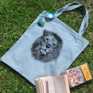 Tannins denim shoulder bag blue